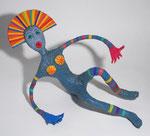 Femme Arc en Ciel - 2006 - ppapier sculpté -  (Coll. Part.)