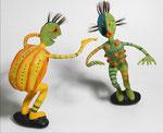 Danse de Guerre - 2006 - papier sculpté  -  (Coll. Part.)