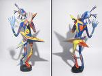 Le Fils des Etoiles - 2013 -0,65m- papier sculpté -  (coll. Part.)