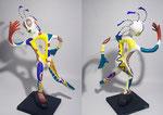 L'Intranquille - 2020 - 0,62 m- papier sculpté