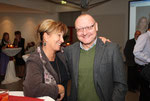 Mit meinem Lieblingsjournalisten Wolfgang Gaube (Foto: A. Russold)