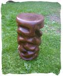 Säule, Hocker ca. 50cm hoch (Holzart Eiche, lasiert)
