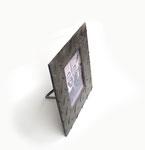exklusiver Bilderrahmen aus Riffelstahlblech