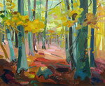 Herbstwald 80x100cm