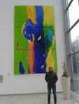 """Fließende Energie "" 5,1 x3 m Deka Invest Frankf verk/sold"