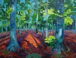 Waldbild 100x130 cm verkauft/ sold