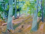 Frühlingswald 100x130 cm