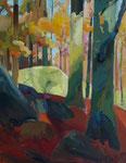 Herbstwald 130x100cm