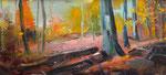 Wald Herbst 23x50 cm verk/sold