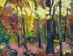 Herbstwald 100x130cm