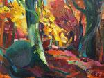 Herbstwald 100x130 cm