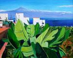 La Gomera ,Blick nach Teneriffa