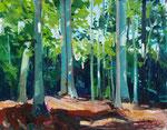 Sommerwald 130x100 cm verk/ sold