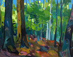 Sommerwald 100x130 cm verk./sold