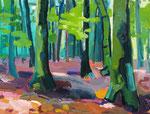 Wald 100x130 cm verk/sold
