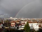 Arc en ciel de ma fenêtre ...