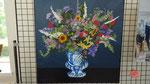 grand vase fleuri