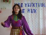 19.10.11. Митрофанова Л. исполняет марийский танец.