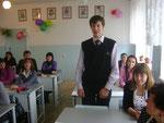 6.10.2011. Педсовет в 11б классе по итогам дня самоуправления.