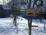 Первоклассники сделали кормушки для птиц
