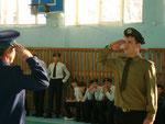"17.02.12. ""Юный патриот"". 11а класс."
