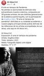 """""""El arte en tiempos de pandemia"""" / All About Art (digital expo Facebook)"""