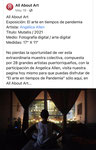 """""""Mutatis"""" / """"El arte en tiempos de pandemia"""" / All About Art (digital expo Facebook)"""