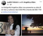 """Radio interview """"Voz y cultura"""" with Judith Felicié. Radio Universidad de Puerto Rico. November 6, 2020"""
