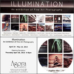 Illumination (collective exhibition Agora Gallery, NYC. April 24 until May 14 2015)