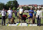 Siegerehrung Deutsche Meisterschaft 2003
