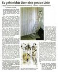"""Presse - Nürnberger Nachrichten zur Ausstellung """"vertikal"""" 2017"""