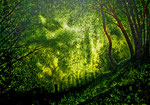 1. 50x70 Bäume - Preis der Sparkasse Nürnberg Platte/Tusche