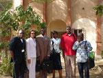 La forte délégation du Gabon