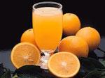 Jus d'orange pressée