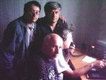 начало работы UE9XVA (стоят Виктор RA9XRH и Александр UA9XKB, сидят Владимир UA9XSZ и Тадеуш RA9DZ)