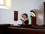 Saiko Yoshida-Mengk leitet mit viel musikalischem Gefühl