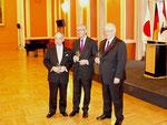 Ehrengast war der japanische Botschafter Dr. Shinyo (l.)