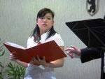 Zum ersten Mal als Solistin bei uns dabei: Chiemi Saito