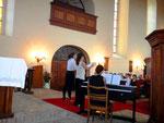 die Kehrseite der Medaille: Blick in die Kirche