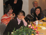 Auch die neue Chorleiterin, Saiko Yoshida-Mengk, wird begrüßt