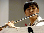 Eigens aus Japan angereist, schon zum zweiten Mal bei uns im Adventskonzert : Keiko Ikeda...