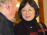 ...und freuen uns, die Initiatorin und Gründerin, Frau Motoko Liebau-Nishida, bei uns begrüßen zu können
