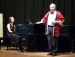 Dieter Brandt bringt ein Ständchen von Schubert