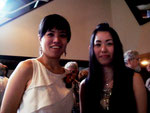 Zwei Takahashis: Mezzosopran Chiharu Takahashi (l.) und unsere Pianistin Ikumi Takahashi