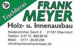 Frank Meyer Holz- und Innenbau