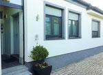 Eingang Appartement Weingarten