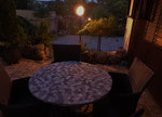 Terrasse Appartement Weingarten