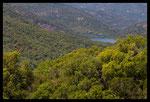 Barrage de la Verne dans le massif des Maures