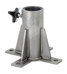 Miller DuraHoist Bodenbasis in verzinkter (1034538) oder rostfreier Stahl (1034537)