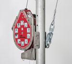 MIGHTEVAC Höhensicherungsgerät mit Rettungswinde 15m verzinkter Stahl - 1005149-A
